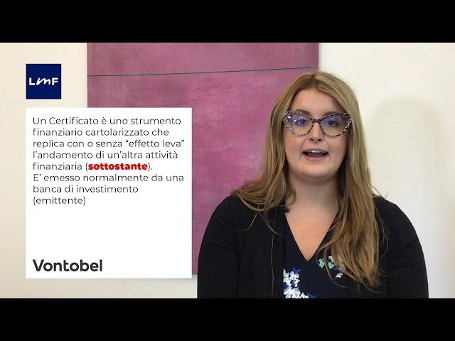 vontobel educational - 01 - cosa è un certificate
