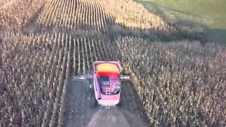 Combining Corn in Wisconsin 2015