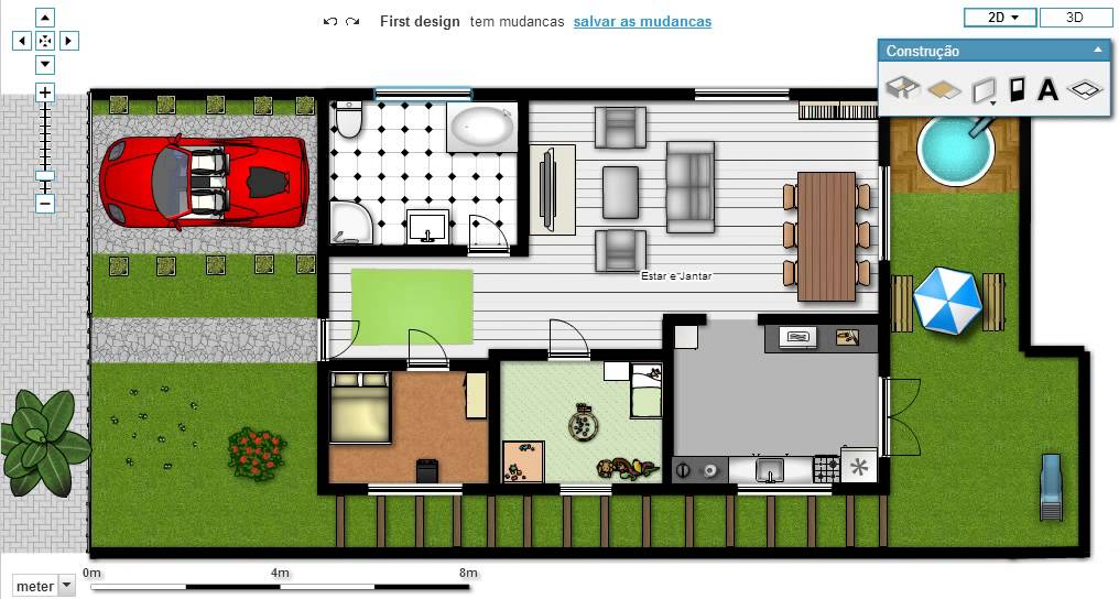 Excepcional Samuel Projetos - Casa com 2 Quartos e Garagem Coberta. - YouTube QV22