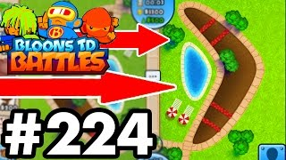 BRAND *NEW* MAP..!!!!!  | FINALLY A NEW Bloons TD Battles MAP!   | Bloons TD Battles Part 223