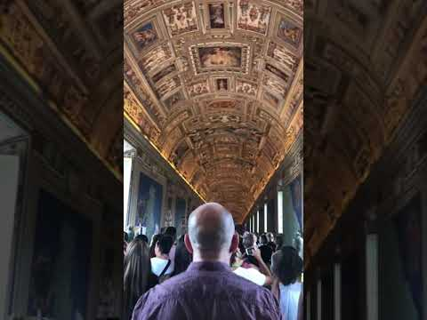 30,000 people inside the Vatican.
