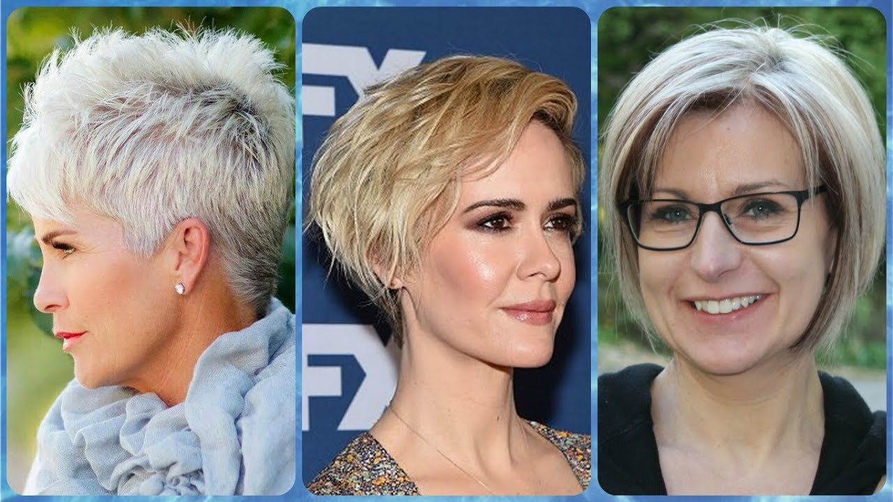 20 Hottest Ideas For Trendy Short Haircuts For Women Over 50 Summer