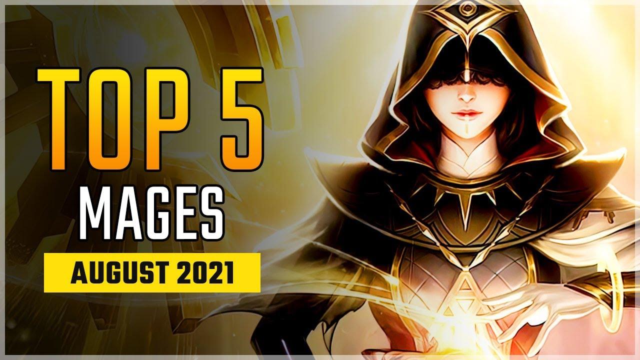 Top 5 Best Mage Heroes in August 2021 | Lunox is so Good! Mobile Legends
