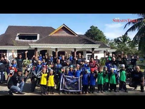 Fun ride brings cheer to Rumah Nur Kasih children