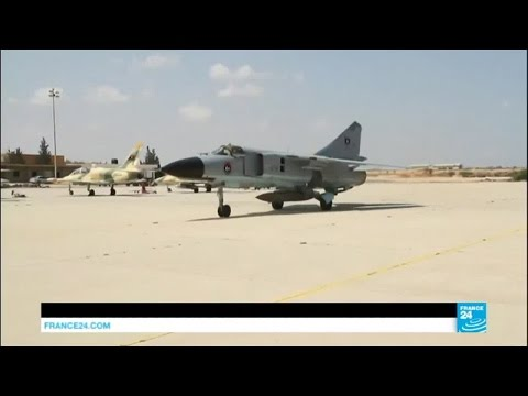 Libya: inside Misrata airforce academy, a base in the battle against the Islamic State Group