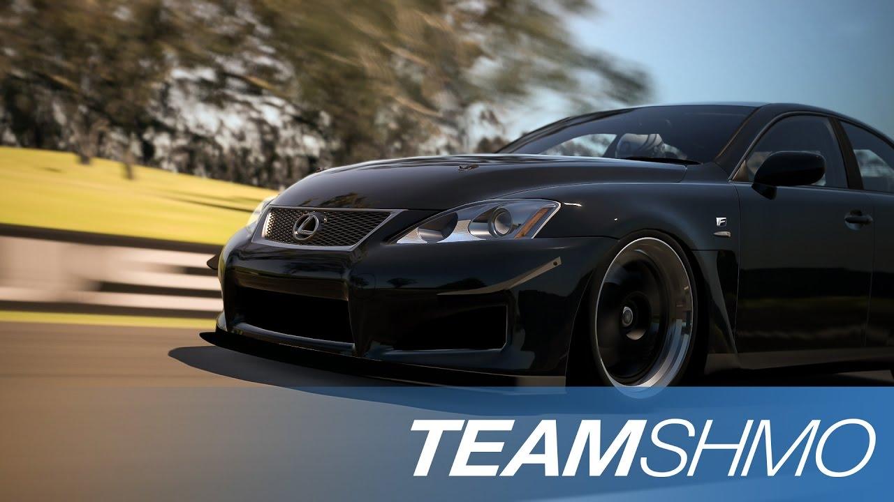 GT6 - Lexus IS F HUGE  Drifts @Deep Forest Raceway