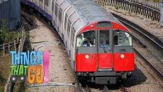 * LONDON UNDERGROUND TRAIN * | Trains For Kids | Things That Go TV!