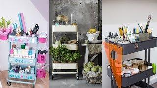 IKEA Raskog Cart Ideas - Raskog IKEA Hacks