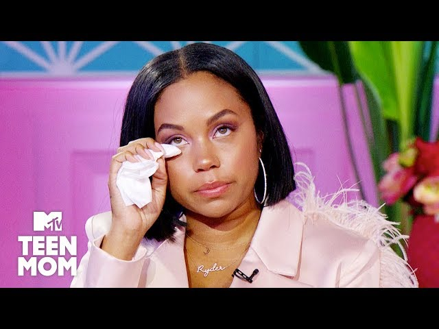 Cheyenne Gets Emotional Over Ryder's Condition | Teen Mom OG\: Reunion