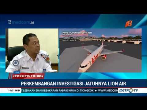 [Full] KNKT Ungkap Laporan Awal Investigasi Lion Air PK-LQP