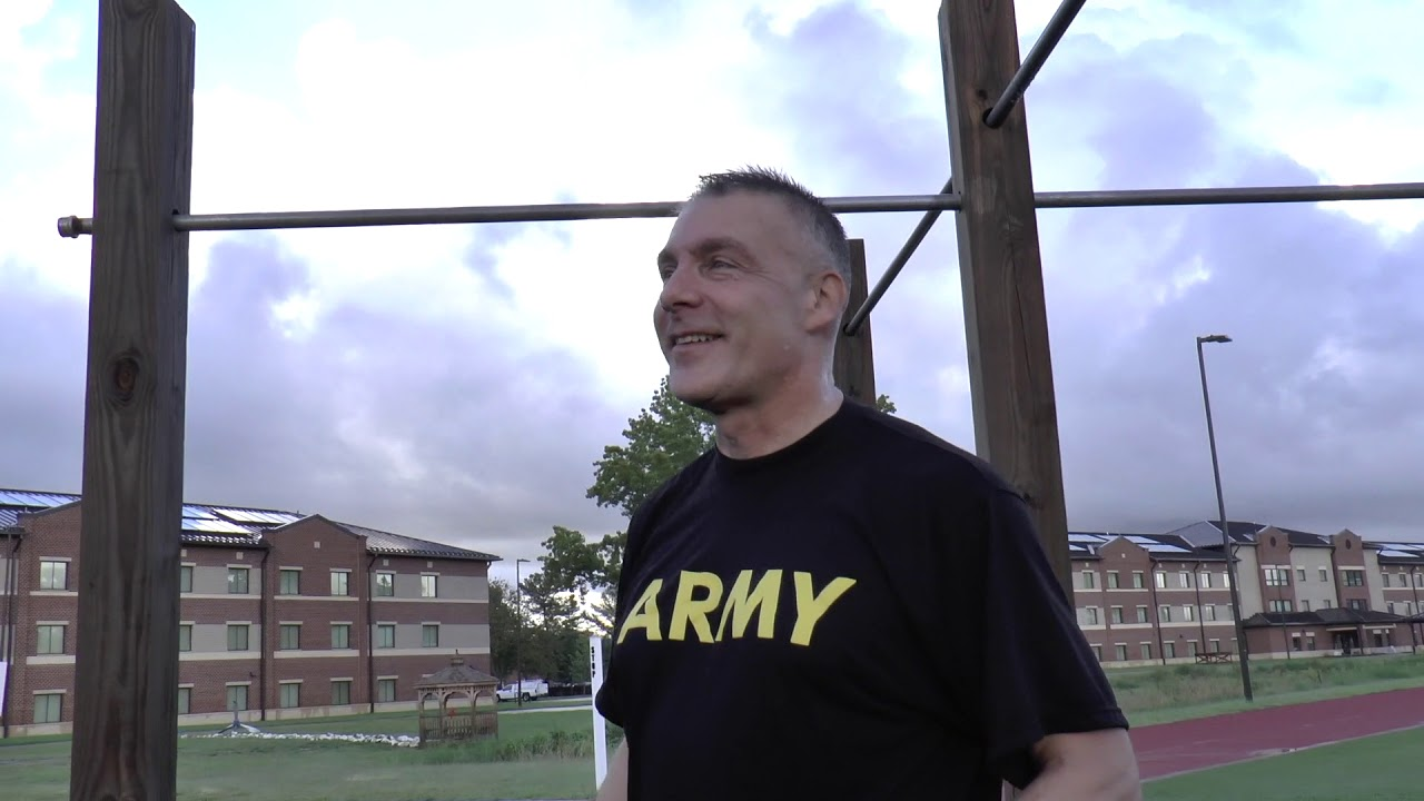 CSM Ted Copeland, Command Sergeant Major of the Army Reserve, and his Senior Enlisted Council take the new Army Combat Fitness Test. The ACFT is slated to become the Physical Fitness test of record for the entire U.S Army by late 2020.