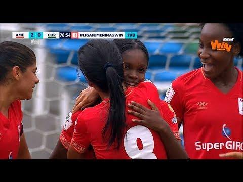 America vs. Cortúlua (2-0) Liga femenina 2019 | Fecha 1