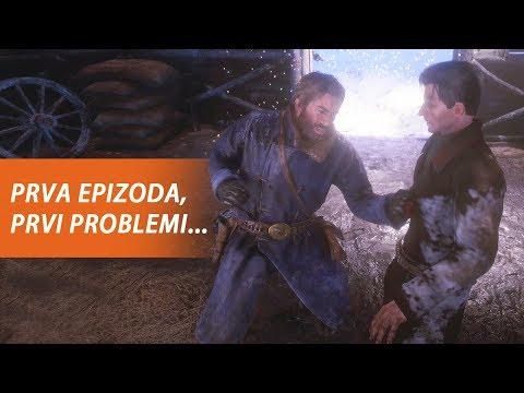NAŠA BANDA BJEŽI OD ZAKONA - Red Dead Redemption 2 (EP1)
