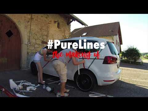 PureLines | Making of.. (Fahrzeugbeschriftung SEAT Alhambra)