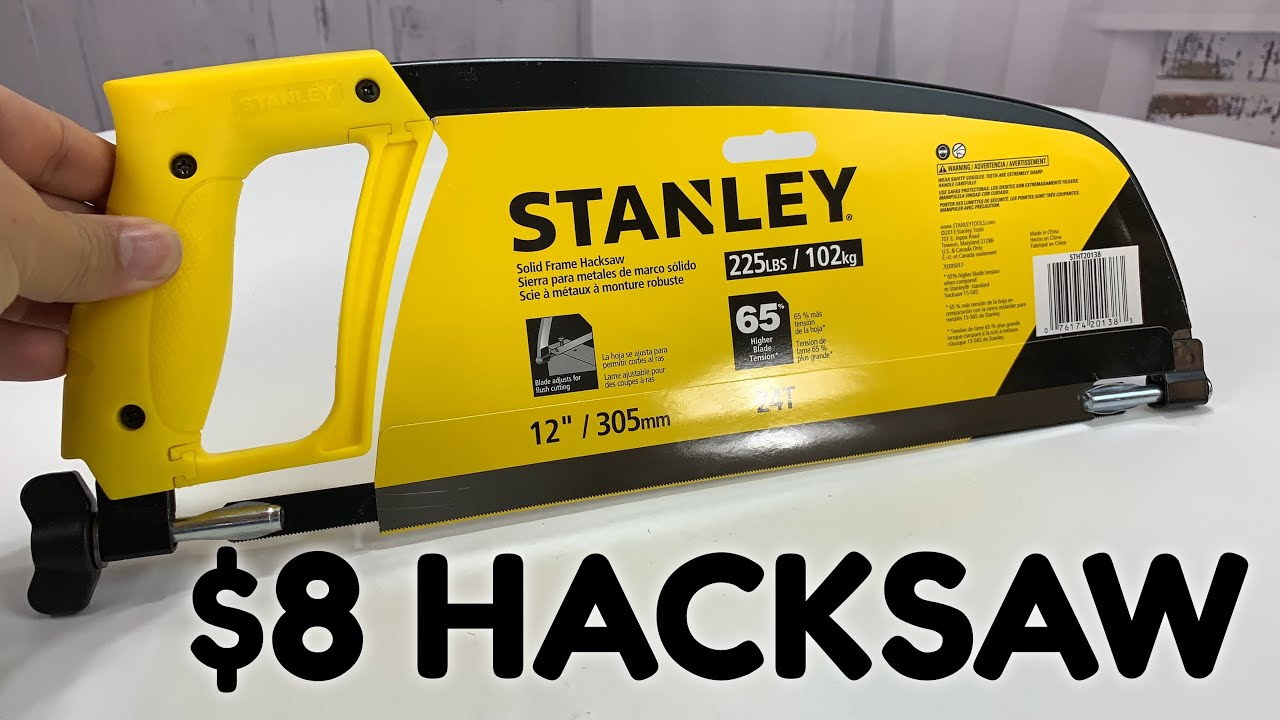 Stanley STHT20138 Solid Frame High Tension Hacksaw 12in // 305mm