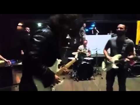 Cesena Jam Session Dave Grohl Party After Show Teatro Verdi Rockin1000 3-11-2015