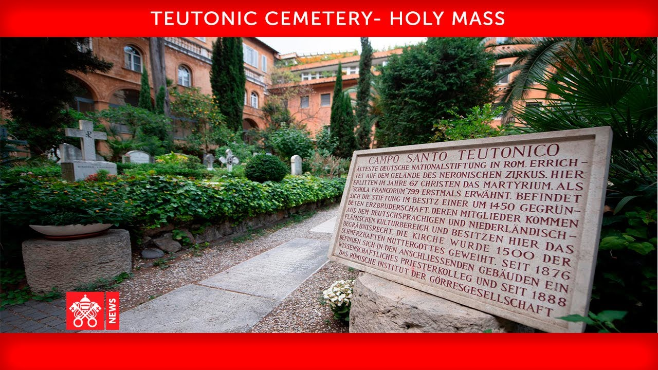 02 November 2020 Holy Mass for the deceased Pope Francis   YouTube