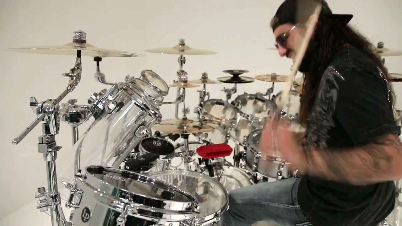 Drum Set Wallpaper Hd Mike Portnoy Performs At The Lp Studio Youtube