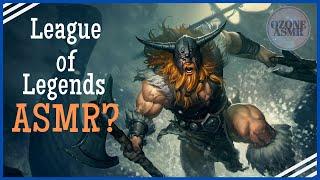 ASMR League of Legends Gameplay - Olaf Jungle (Platinum)