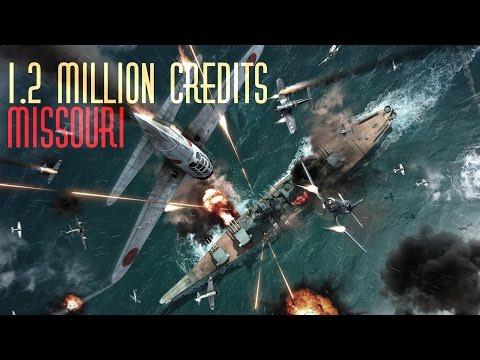 1.2M Missouri Game 6 Kills  || World of Warships