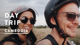 SIEM REAP VLOG - KHMER WAYS SCOOTER TOUR | Cambodia Travel Vlog 017, 2017