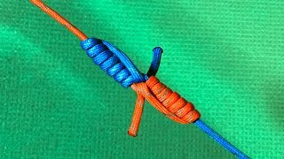 Правильный змеиный узел (Blood knot). Как надежно связать две лески