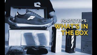 Sandal Slide Pria Footstep Footwear - Mono Black