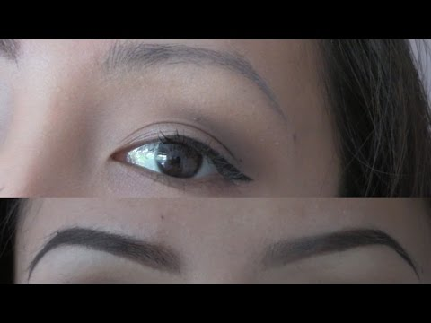Eyebrow Tutorial | for THIN, SPARSE, OVER-PLUCKED EYEBROWS ...