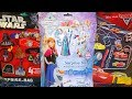 Disney Frozen - Cars 3 & Star Wars Big Surprise Bag 12 Great Toys At Christmas 2018