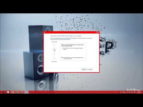 How to disable UAC on Genuine Windows® 8