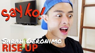 Sarah Geronimo RISE UP (Reaction Video)