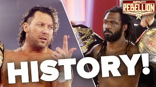Kenny Omega Vs Rich Swann Title Vs Title Ring Entrances & Introductions! | Rebellion 2021 Highlights