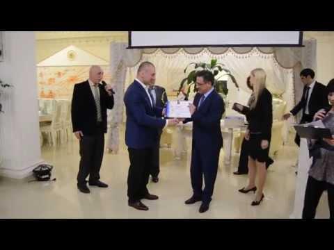 Вручение памятных призов (Чемпионат Европы по Тхэквондо 2015)