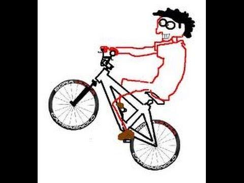empinando de bike sem roda da frente youtube