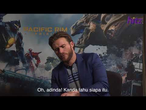 Scott Eastwood & Pacific Rim Uprising Director Reads A Malaysian Movie Script!