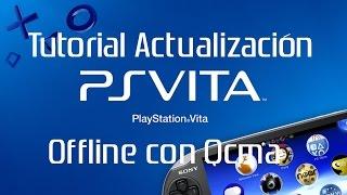 """Tutorial completo"" ""PSVita"" ""Actualización Offline"" a ""firmware 3.60"" con ""QCMA"""