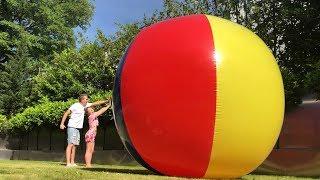 Ich habe den größten BALL aus dem Internet gekauft 😳