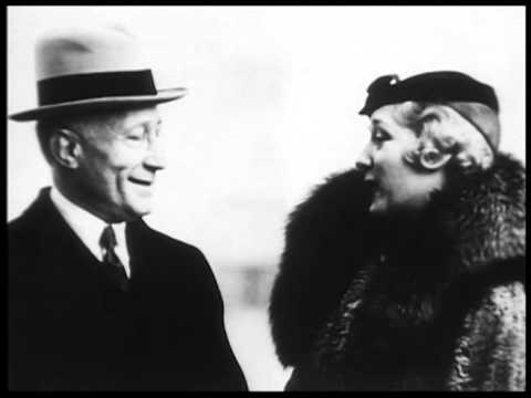 Mary Pickford Speaks to Adolph Zukor