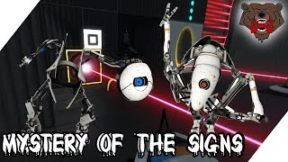 Mystery of the signs - Aperture Tag Co-op #002
