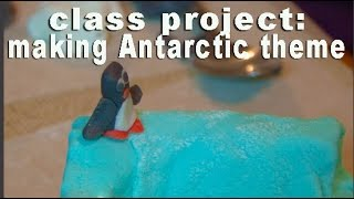 Class Project Edible Antarctica Theme Using Homemade Marsmallows