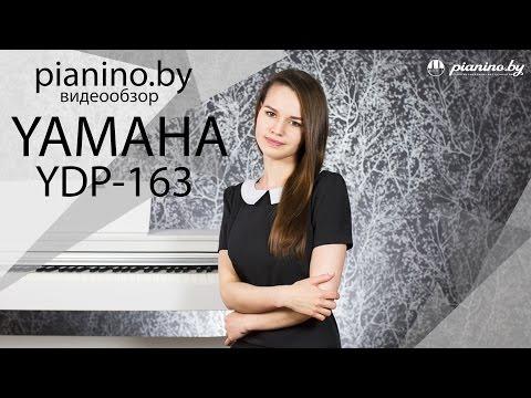 Обзор цифрового пианино Yamaha YDP-163 от Pianino.by