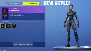 The New Elite Agent Skin Style... (fortnite battle royale)
