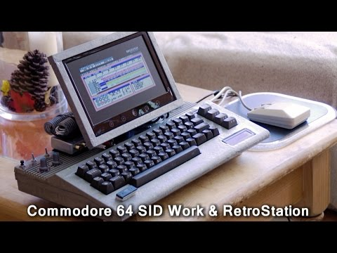 Commodore 64 music workstation - incredible C64 / Windows 10 hybrid device for music production