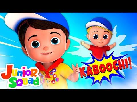 kaboochi-dance-song-for-kids-|-junior-squad-cartoons-|-videos-music-for-children