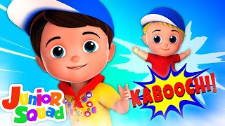 Kaboochi Dance Song for Kids | Junior Squad Cartoons | Videos & Music for Children