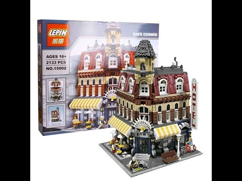 Lego  Cafe Corner Review