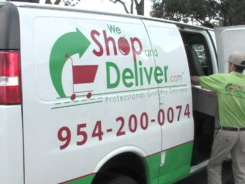 Grocery Delivery by We Shop And Deliver