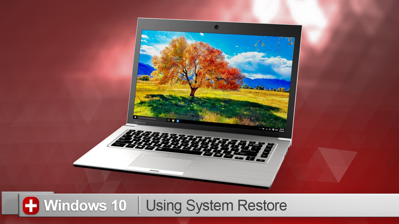Toshiba How-To: Perform a system restore when using Windows 10 - YouTube