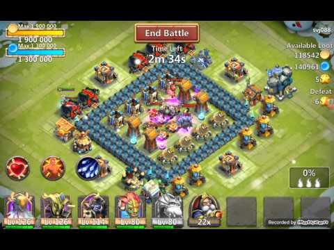 Castle Clash 5.rész-Triton Gameplay