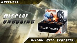 Mtg - Magic Origins 4x9 Booster Unboxing - Display Part 1 [Ori][Deutsch]